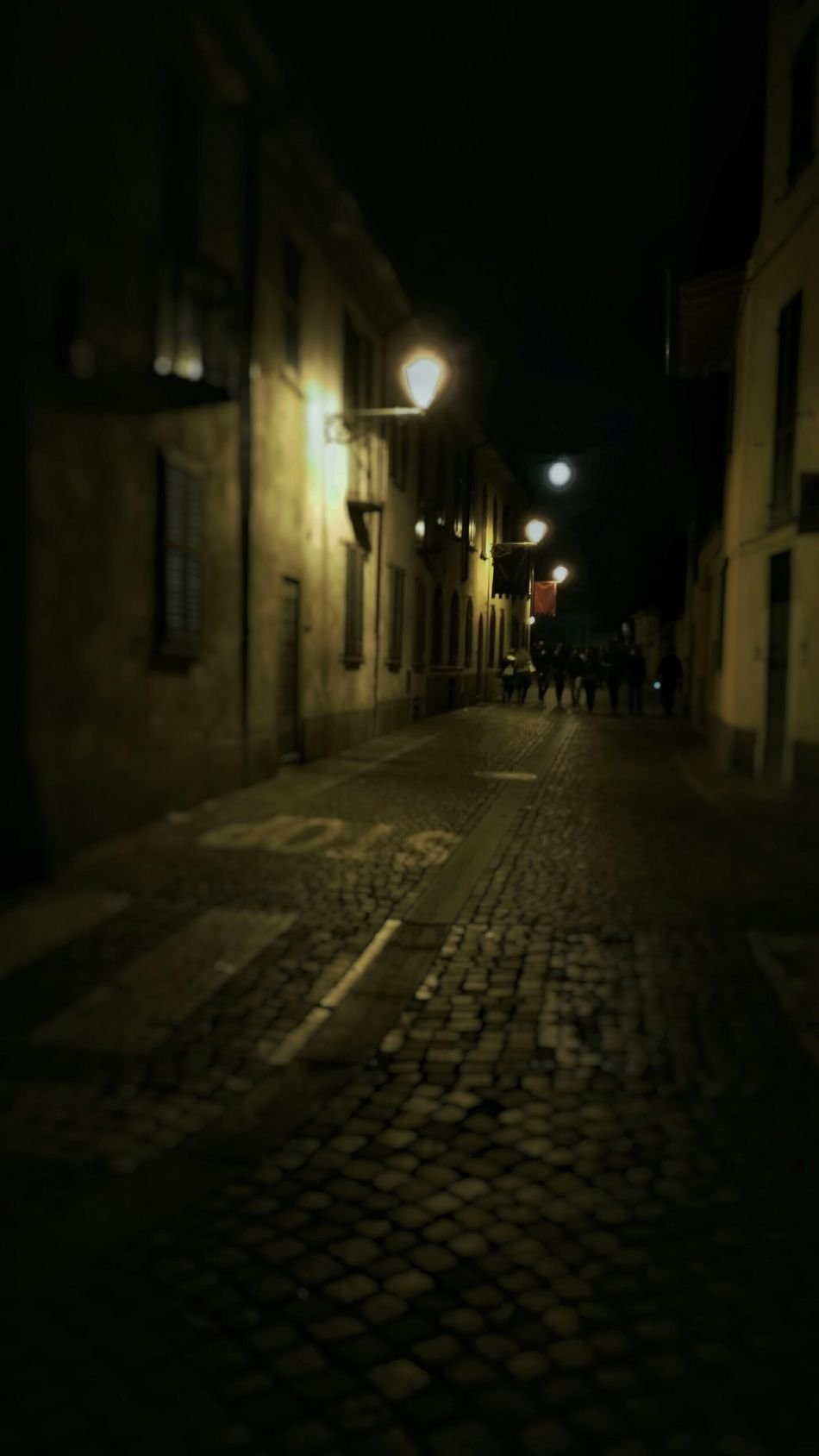 The moonlight Taking Photos Enjoying Life Sweet Moments Streetphotography Italy Small Town NightInTown Nightlife Night Lights Nightphotography