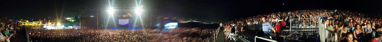 The Byblos International Festival 2016 Sia Fantastic Show ca 10000 spectators