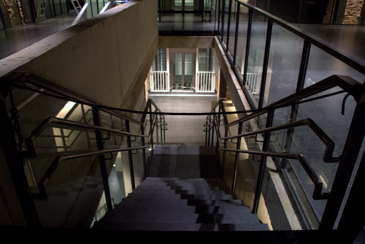 Architecture Built Structure Closed Day Emptiness Empty Indoors  Interior Interior Design Interior Views No People No Person Railing Stair Staircase Stairs Stairway Stairways Steps And Staircases