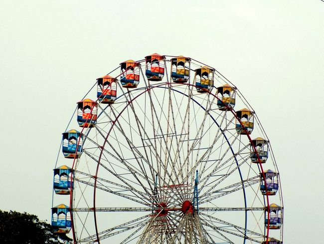 Giant Wheel Pastel Power Incredible India Showcase April Streetphotography Eyeem India EyeEm Gallery Nikonl330 Pic Of The Day Eyeemphotography EyeEm Best Shots EyeEmBestPics Puttur India