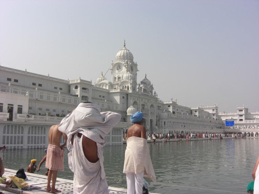 Religion And Beliefs SikhTemple Golden Temple HarimandirSahib Amritsar, INDIA Pilgrimage Darahan