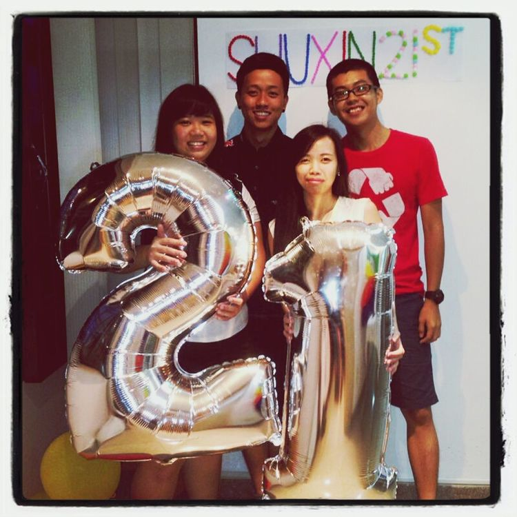 Happy 21st birthday shuxin! HappyBirthday Party Time Mynewhairstyle