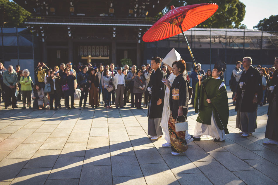 Japan Japanese Wedding Meiji Shrine Tokyo Traditional Wedding Yoyogi Park