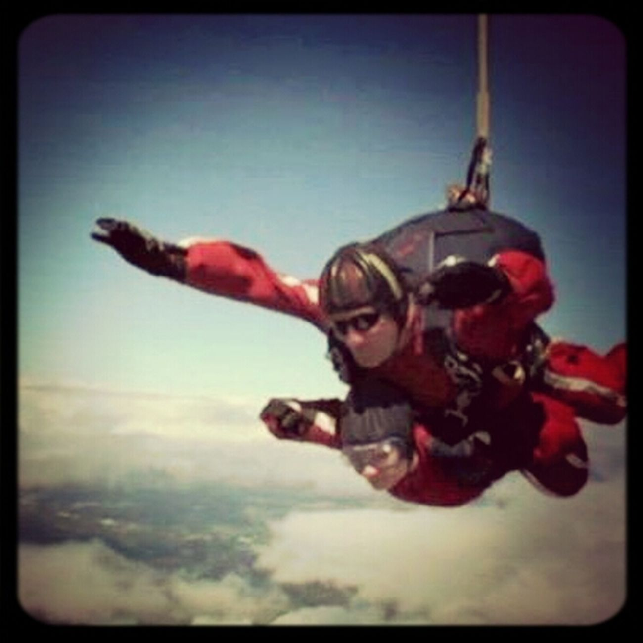 How about this for some Heartbeat Moments ?! 2012 Charity Skydive.