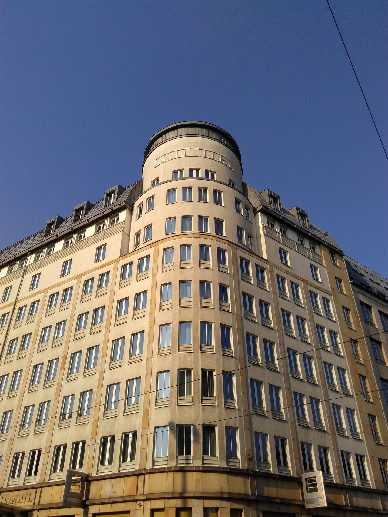 Building Exterior Architecture Built Structure Low Angle View City Leipzig Germany Deutschland Hotel City Sachsen
