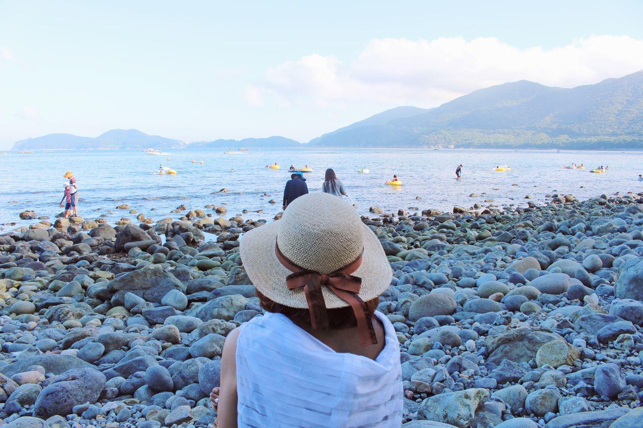 My Mom South Korea Geoje Sea Summer Vacances