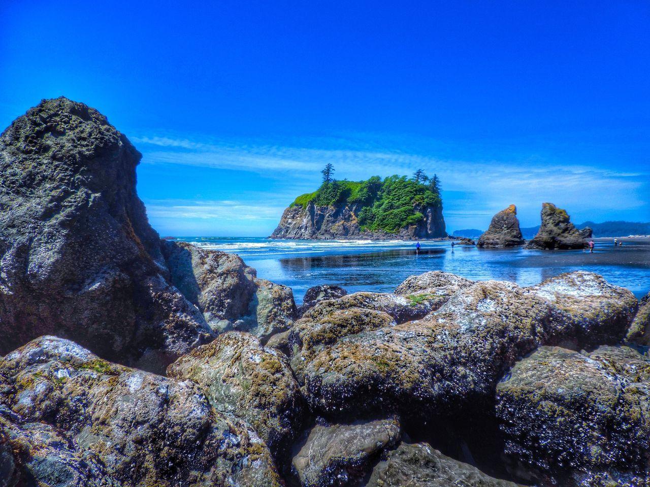 Rocks By Sea