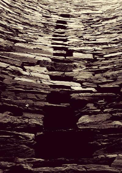 Stones Slate Shetland Islands Broch Mousa Broch Inside Mousa Broch Shetland Sha Lifeasiseeit Johnnelson Pattern Pieces Patterns In Nature