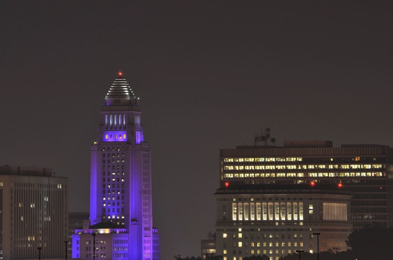 architecture, night, illuminated, building exterior, built structure, city, modern, travel destinations, skyscraper, no people, sky, outdoors