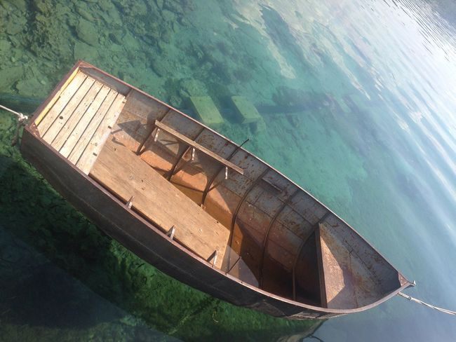 Boat Crystal Clear Waters Holiday Summer