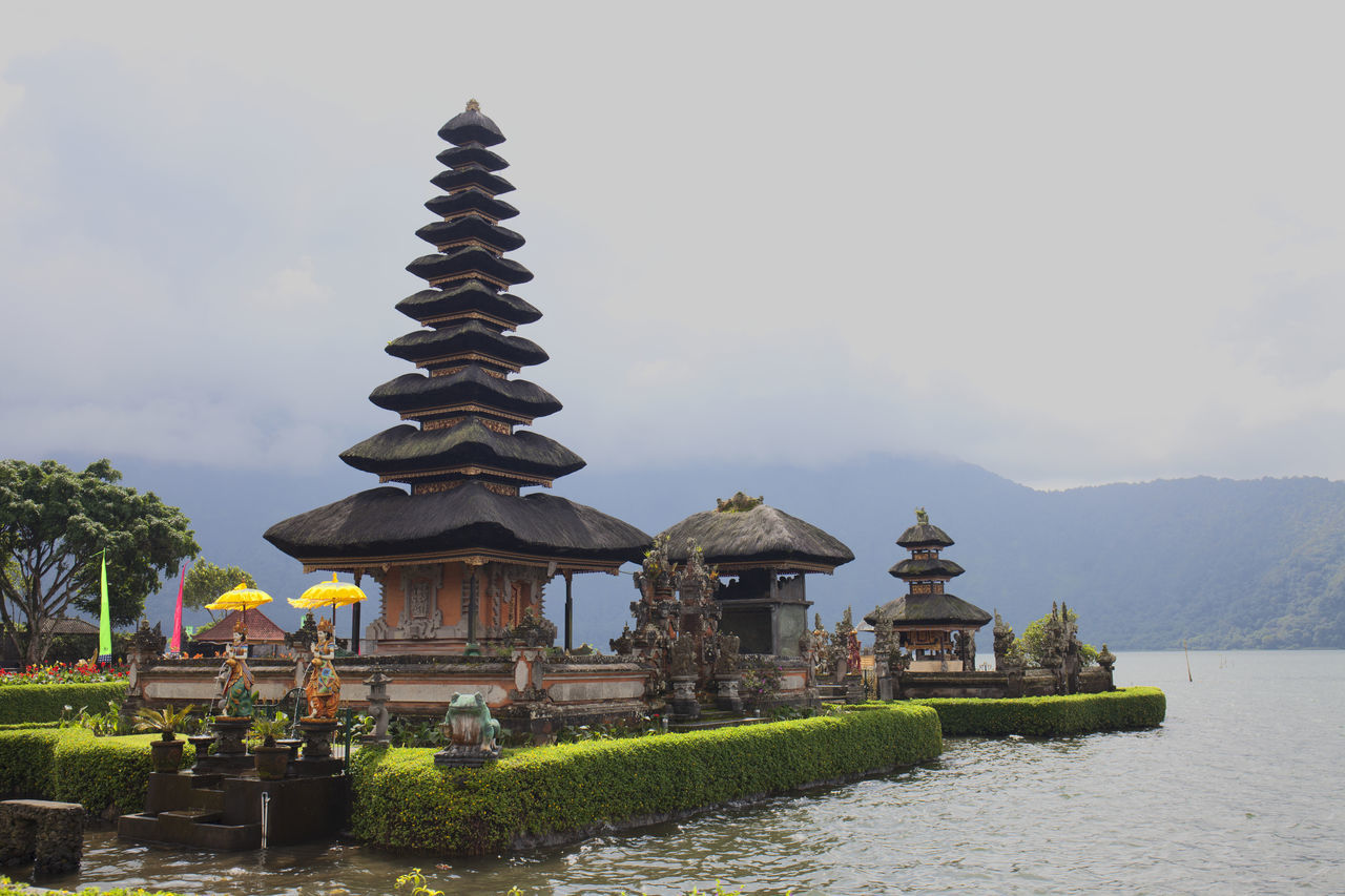 Pura Ulun Danu Bali Architecture Bali Color Image Hinduism Lake Lake Bratan No People Outdoors Place Of Worship Pura Ulundanu Relegion Temple Tourism Travel Travel Destinations