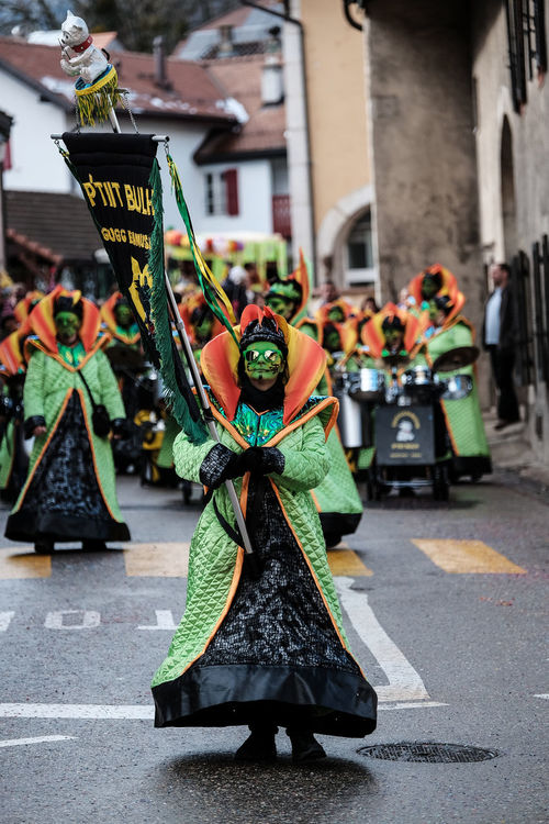 Carnaval People Streetphotography Real People Guggenmusik Genolier P'tiit Bulh Monthey