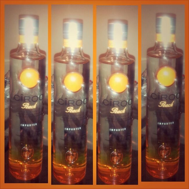 Birthday My Birthday Ciroc Peach