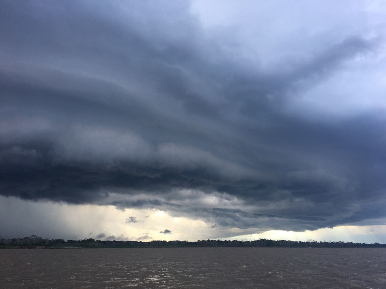 Storm over Amazonriver in Leticia Colombia Amazon River Storm Cloud Nature Rainforest Weather Cloud - Sky Outdoors Travel