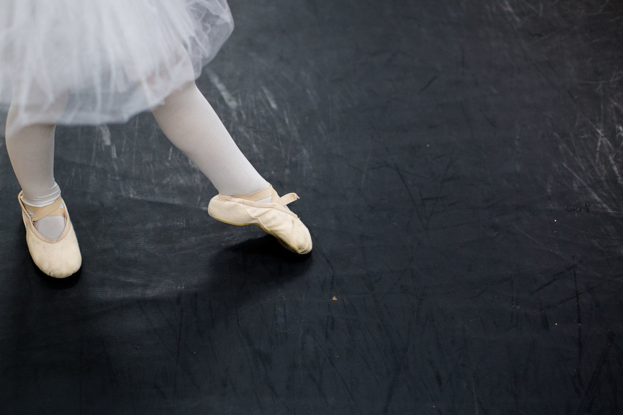 Ballet Ballet Class Ballet Dancer Ballet Shoes Ballet Time  Copy Space Little Girl Person Standing