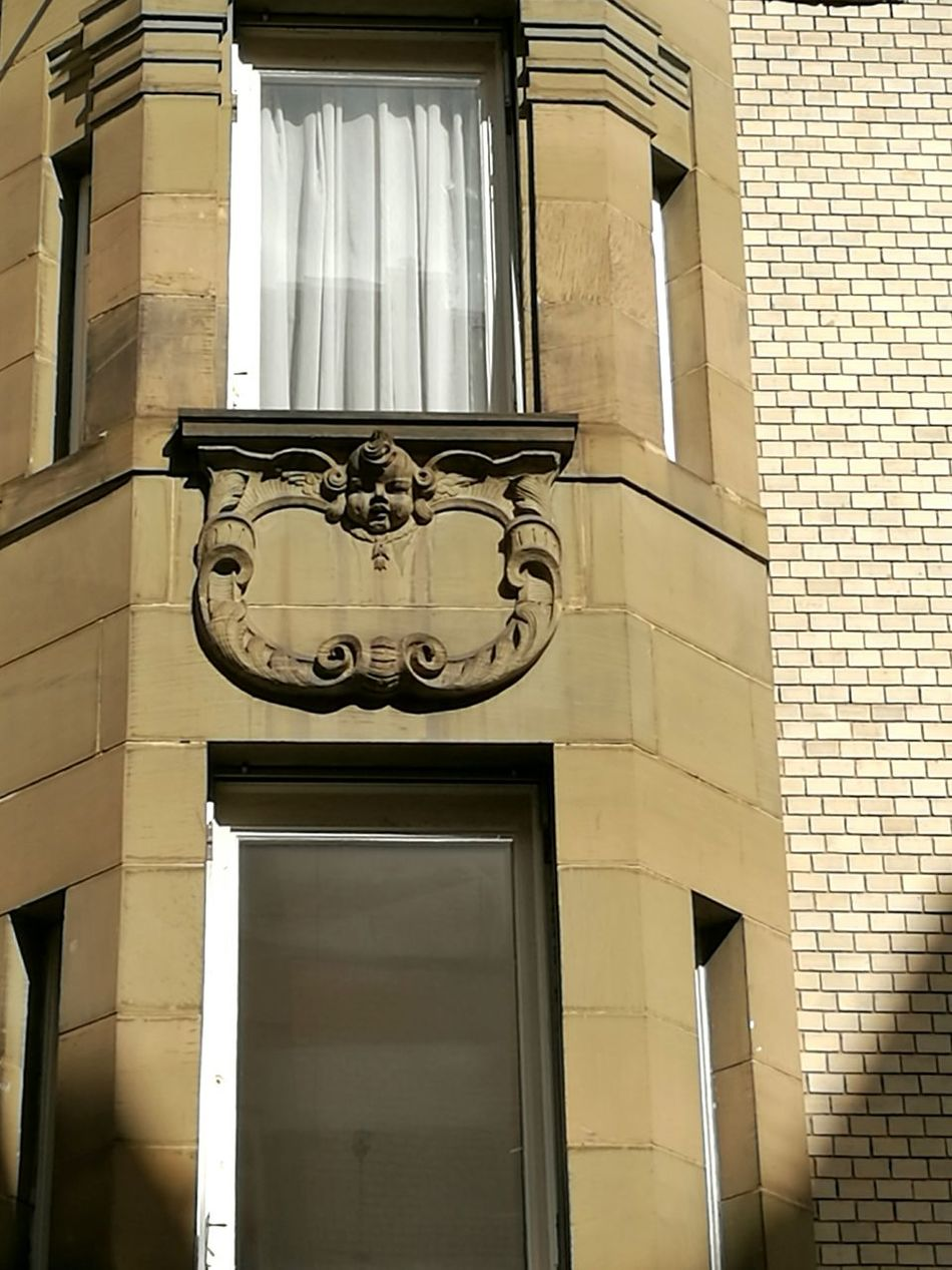 Little angel at an Art nouveau building. Architecture Building Exterior Art And Craft Art Nouveau Style Art Nouveau Buildings Art Nouveau Architecture Architecture_collection The Past Stuttgart Architectural Detail Historic Balcony Architecturelovers Stuttgartmobilephotographers Creativity Architecture Ornate