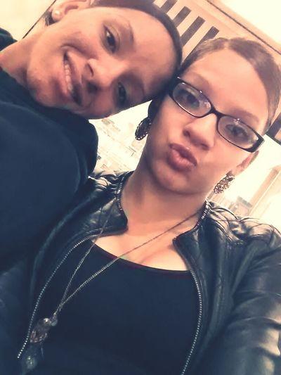 My big sis and I <3