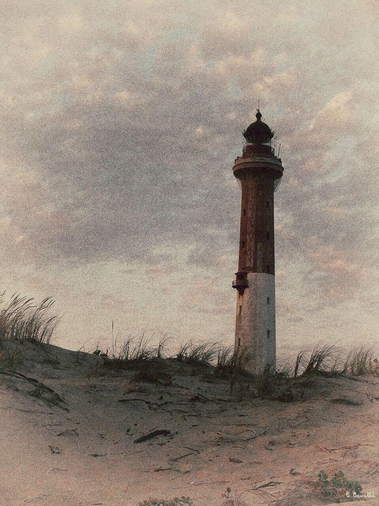 Vintage Lighthouse Phare De La Coubre