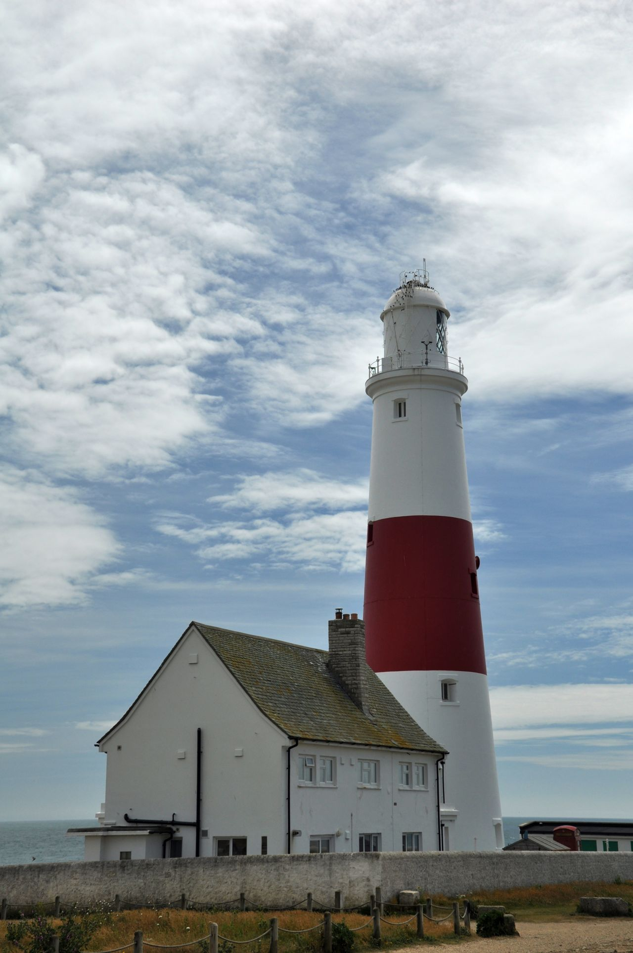 Lighthouse in Portland Bill Architecture Guidance Lighthouse Lighthouse Lighthouse Cottage In Portland  Red And White Tower