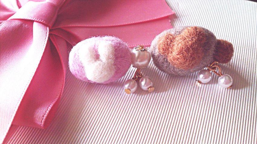 Handmade Jewellery Cute rabbit and bear