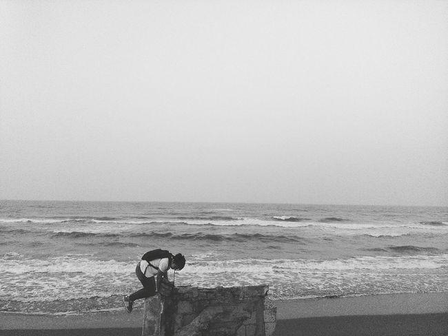 Beachphotography Black And White