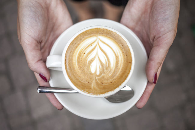 Beverage Cappuccino Close-up Coffee Coffee Coffee - Drink Coffee Cup Coffeelife Coffeelove Cup Espressodrink Flatwhite Flatwhitecoffee Focus On Foreground Freshness Hands Happy Holding Holding Hands Latteart Lifestyles M Person Refreshment Saucer