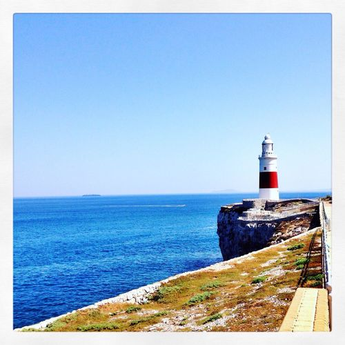 Europa point Lighthouse Sea View Gibraltar