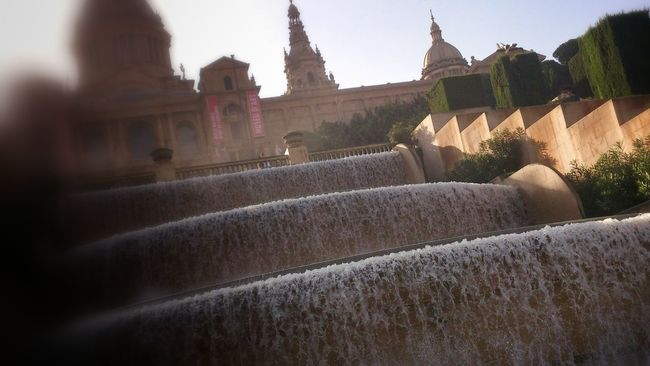 National Palace (water sources) Eye4photography  Barcelona Monuments Amateur Photography