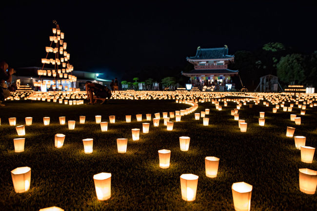 潮来市 万燈会 Beautiful Japan EyeEm Best Shots Japanese Culture Lantern Nightphotography Night View Beautiful Day EyeEmBestPics