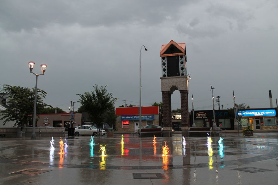 Architecture Color Fountain Water Fountain Sky