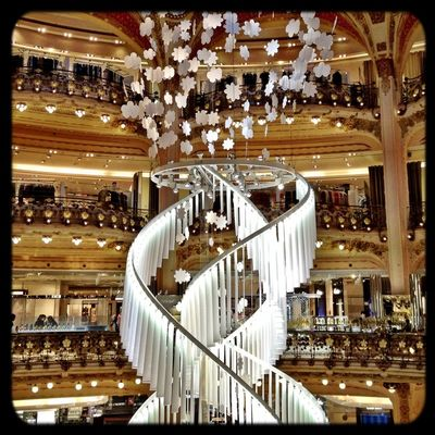 Shopping at Galeries Lafayette by survet069