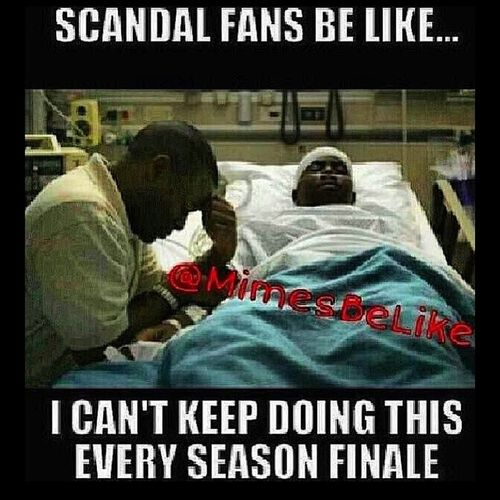 Lol I just know this gonna be me tonight Scandal Seasonfinale Imnotready WhereismyDefibulator