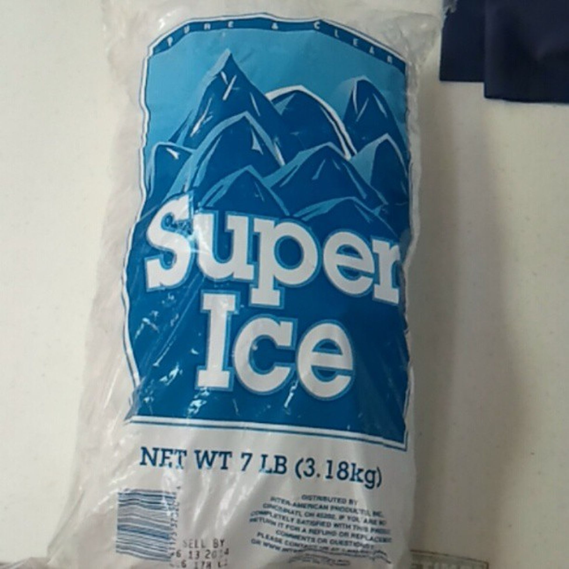 Super Ice? Does that mean it won't melt? Ice Instapic Instagram Instadaily instaice vegas lasvegas funny