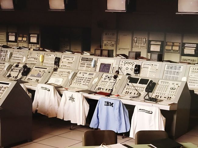 The Color Of Technology IBM NASA IT Abundance Large Group Of Objects In A Row Group Of Objects Order Collection No People