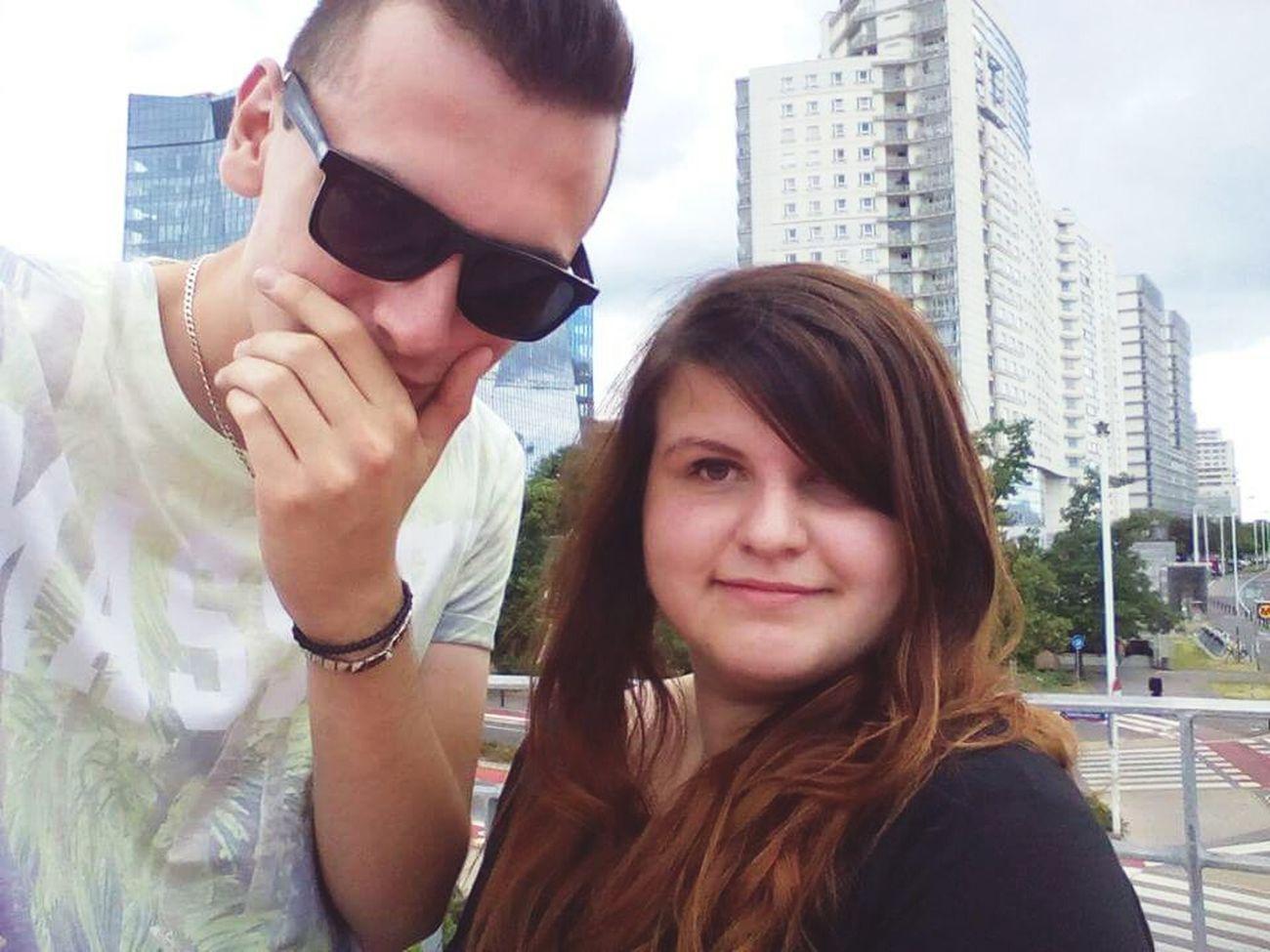 Hello World Summer! ♥ Sunglasses ✌👌 Brunette Girl  Long Hair Love♥ Selfie ✌