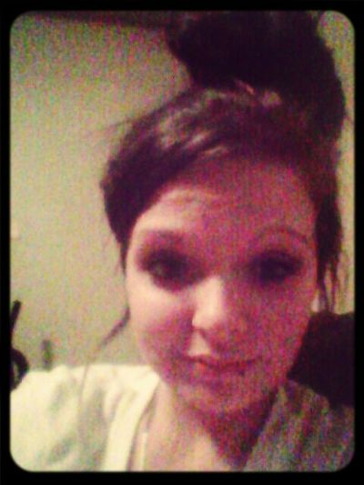 Hotmess At Bed Time:/ Baby Get Your Shine On :)