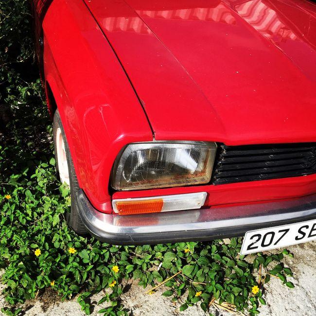 Voiture rouge Car Parking First Eyeem Photo