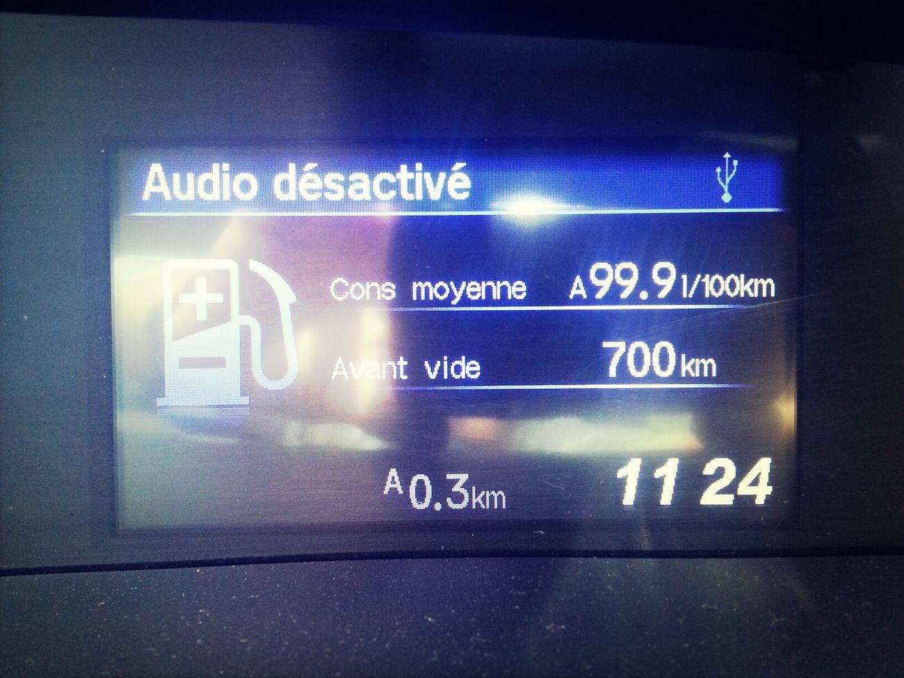 Les voitures nord américaines ont encore des progrès à faire en matière de consommation, je trouve. Cela dit, avec in réservoir de 700 litres, on a encore une belle autonomie !