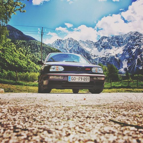 Golf Gti ♥ Golf3 2012memories Mk3 Gti 16valve Jubiläum 20yahre Edition RECAROSEATS 2.0  Colour Of Life Jezersko Mountains Slovenia ❤