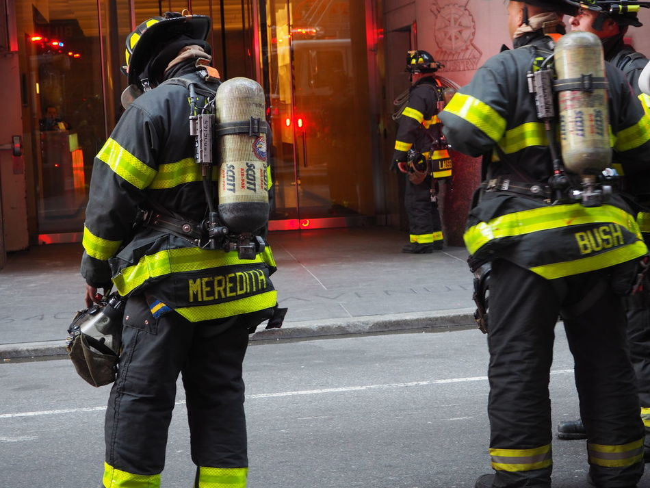 At Work Breathing Apparatus City City Employees City Life City Street Fdny FDNY Activity In Manhattan Firemen Firemen Apparel Firemen At Work From Behind From Behind... Jacket Leisure Activity Lifestyles Men NYC Photography NYC Street Photography Outdoors Urban Urban Photography Urbanphotography Yellow