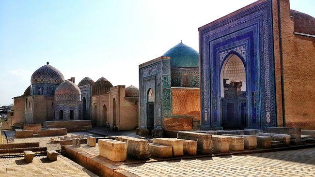 Silkroad Heritage in Samarkand Uzbekiston