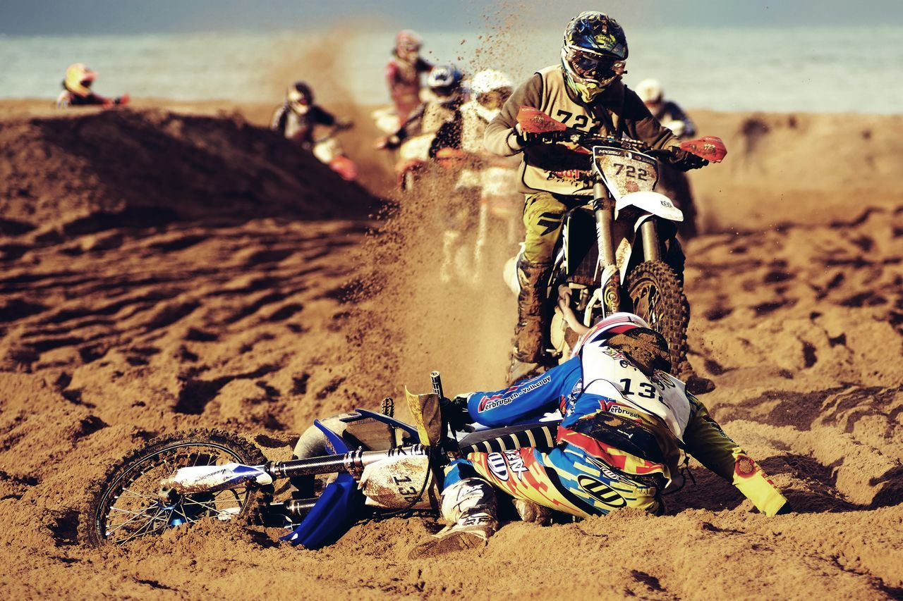 Incoming! Beach Day Motorcycles Outdoors Race RedBull RedbullEvents Sand