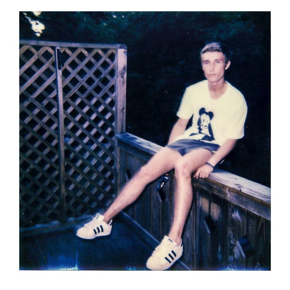 colin on back porch Historic Savannah Georgia Impossible Project Polaroid 600 Polaroid Polaroid Photographer Polaroid Photography Hanging Out