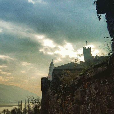 Burgreichenstein Burg Keep  Castle Heaven Sky Cloud Clouds Rhein Sun