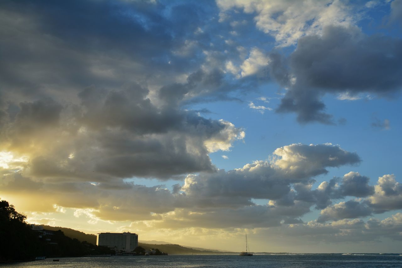 Sky Cloud - Sky Travel Destinations Outdoors No People City Thunderstorm Water Urban Skyline Nature Day