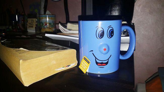 Books ♥ Night Tea Time No People Smile