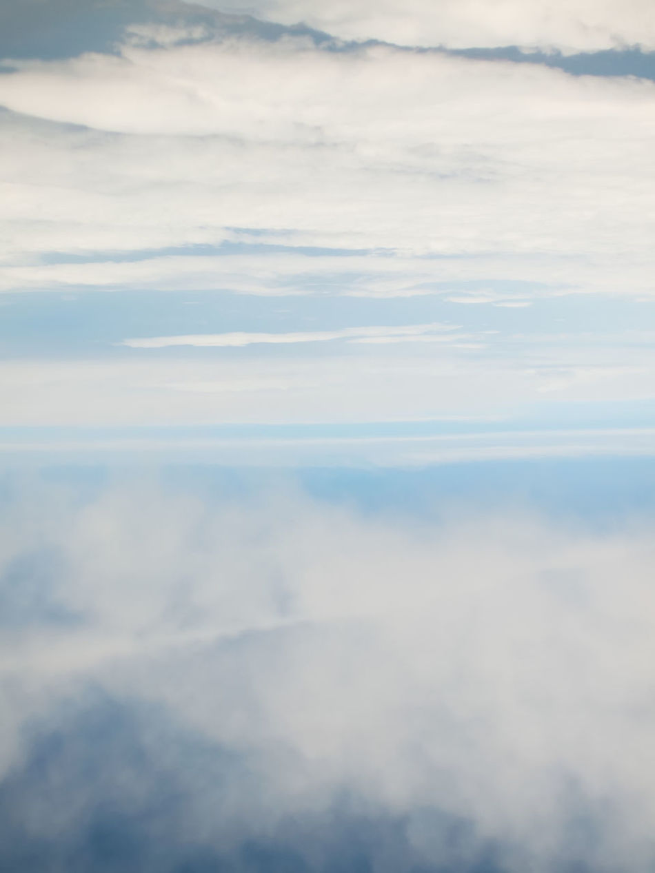 Aerial View Backgrounds Beauty In Nature Cloud - Sky Cloudscape Cumulus Cloud Day Flight Fluffy Heaven Nature No People Outdoors Scenics Sky Sky Only White Color