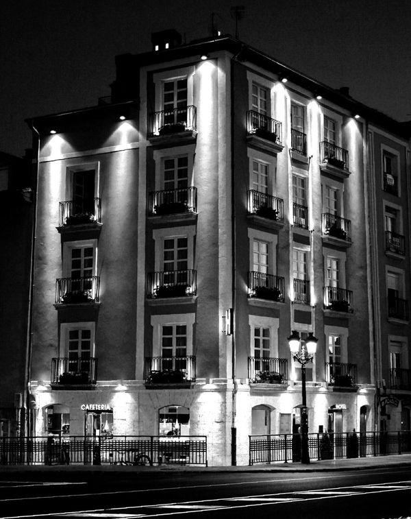Fotografía Nocturna Arquitectura B&w Photography B&n Fotografia