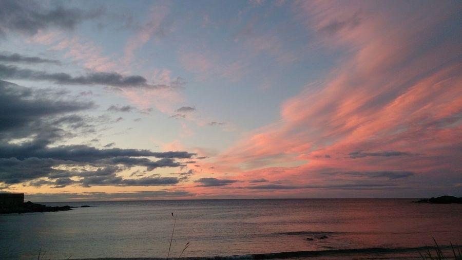 Sunset Scotlandsbeauty Cloud - Sky Dramatic Sky Scotland Portsoy