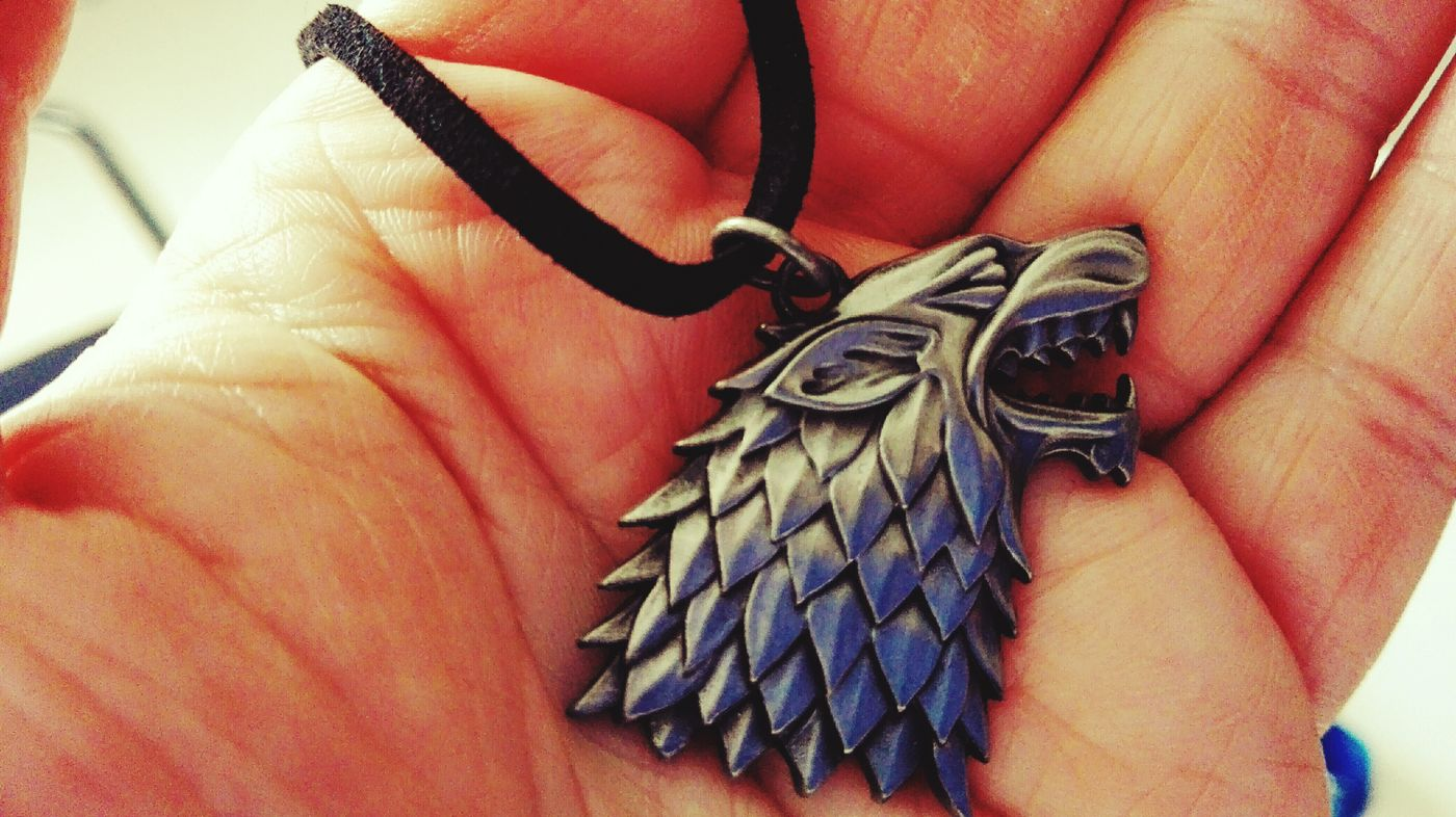 Winter Is Coming.... Medaillon Wolf Gameofthrones Stark Winter Is Coming Game Of Thrones Check This Out Autumn 2015 October